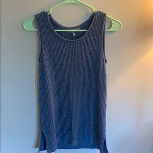 NWOT sweater tank top